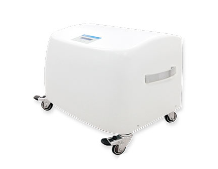 Low noise high performance medical air compressor