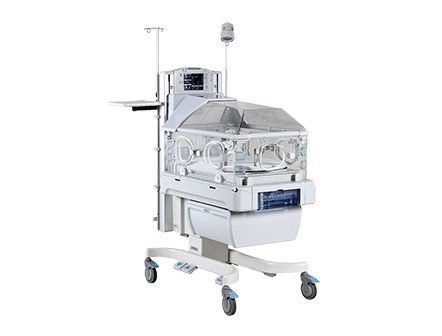 Hospital Equipment Medical full featured system combining incubator and radiant warmer in one unit