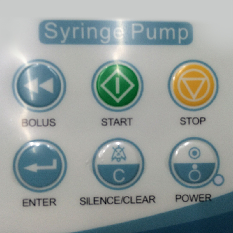 Large Colorful LCD Syringe Pump Applicable for 5,10,20,30,50(60) ml syringes