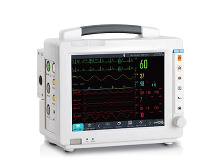 Hospital Medical Device Semi Modular 8 Inch Patient Care Monitor