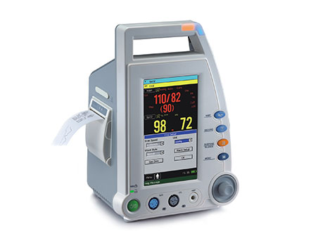 Medical Equipment 7 Inch Color TFT LCD Vital Signs Monitor