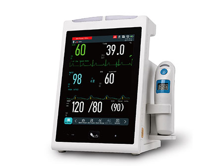 Wireless Vital Sign Monitoring System Vital Signs Patient Monitor