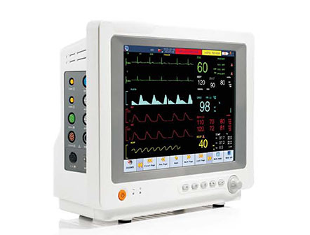 12.1 Inch Multi-parameter ICU/CCU/OR Patient Monitor