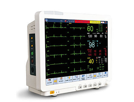 """Waterproof 15"""" Touch Screen Intensive Care Patient Monitor for ICU/CCU"""