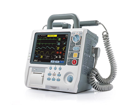 Hospital Use Biphasic Defibrillator Monitor Machine