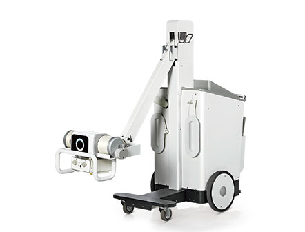 Hospital Equipment 40kw Mobile Digital X-ray Radiography System