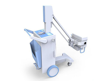 High Frequency Mobile Flat-Panel Digital X-ray Radiography System