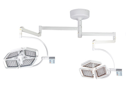 Double Head Ceiling LED Bulb Shadowless Operation Lamp