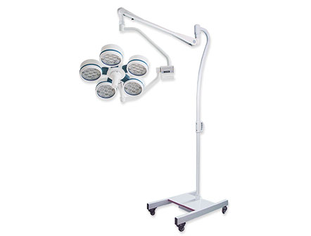 Hospital Equipment Vertical Surgical Lights Shadowless LED Operating Lamp