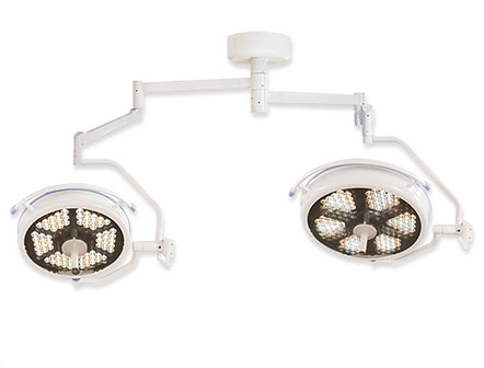 Double Head Wall Type Shadowless Operating Lamp