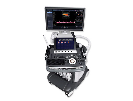Portable Trolley 4D Color Doppler Mobile Ultrasound Scan Machine