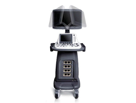 Hospital Full Featured Diagnostic Machine Ultrasound System 4D Color Doppler