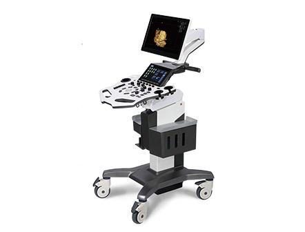 Trolley B Mode Color Doppler 4D Ultrasound Machine