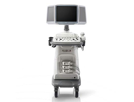 Trolley Color Doppler Ultrasound Imaging Machine with 15-Inch LCD Monitor