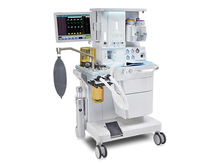 Medical Instrument 15 Inch Touch Screen Anesthesia Apparatus Ventilator Anesthesia Machine