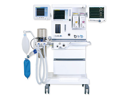 10.4 Inch LCD Touch Screen High End Anesthesia Machine with 2 Vaporizer