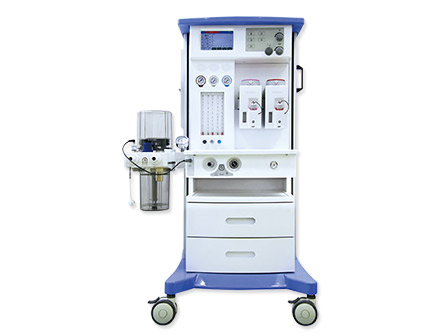 Good Performance Anesthesia Machine with One Vaporizer