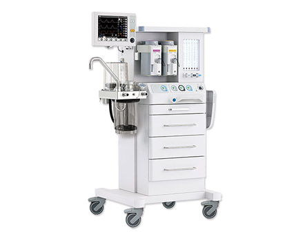 Breathing System 10.4 TFT Color Screen Ventilation Anesthesia Machine with Two Vaporizer
