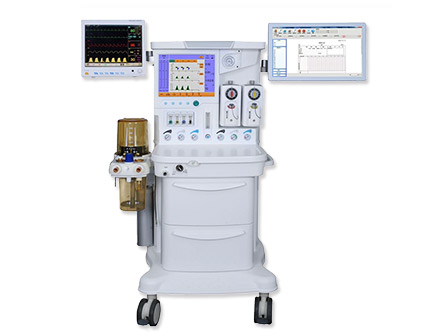 High-End Intelligent 15 Inch LCD Touchable Anesthesia System/Workstation