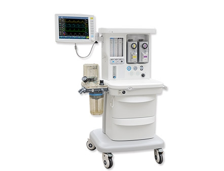 15 Inch TFT Touch Screen Full Monitoring Modular Anesthesia Workstation