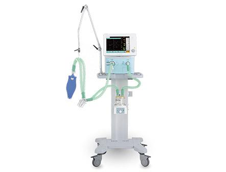 Mobile Invasive and Noninvasive Combined ICU Breathing Ventilator