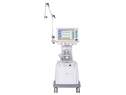 Medical Equipment 15 Inch Touch Screen ICU Ventilator