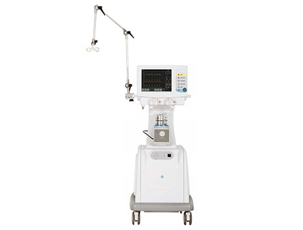 12.1 Inch Touch Screen Multi-function ICU Ventilator Breathing Machine