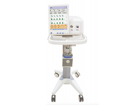 12.1 Inch TFT Color Touch Screen Dual Channel NIV Ventilator