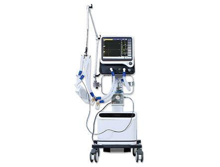 Breathing Apparatus Portable ICU Ventilator with Air Compressor