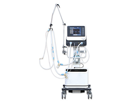CPAP System 10.4 Inch LCD Touch Screen Neonatal Ventilator Apparatus
