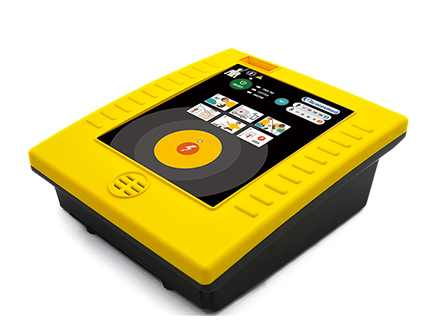 Medical Portable AED Machine Automated External Biphasic Defibrillator