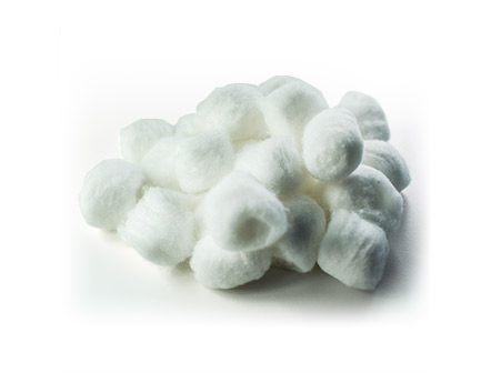 100% Cotton Medical Non-Sterile Soft Cotton Ball for Wound Care