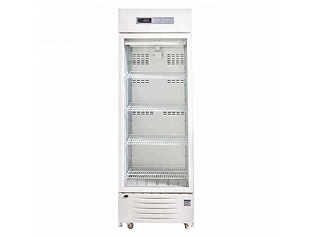 Single Glass Door Digital Display 2 to 8 degree Pharmacy Vaccine Refrigerator 236L