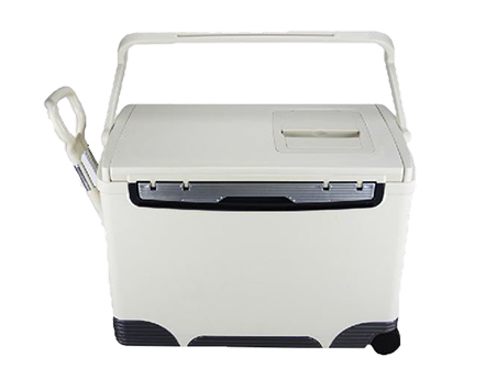 24L Transport Cooler Vaccine Cold Chain Box with Trolley and Wheel