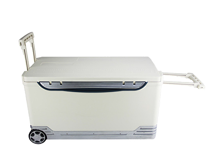 46L Vaccine Transport Cooler Box With Wheels And Trolley46