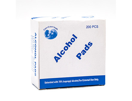 Disposable Non-Woven Sterile Alcohol Swab Pads Wipes for Injections