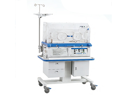 Hospital Infant Incubator Equipped with Neonate Bilirubin Phototherapy Equipment