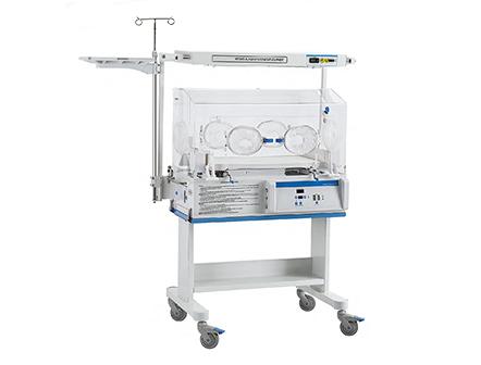 Air Control Mode Infant Warmer Incubator with Neonate Bilirubin Phototherapy