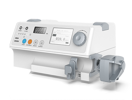 Portable Electric Single Channel Intravenous Syringe pump with Simple Mode
