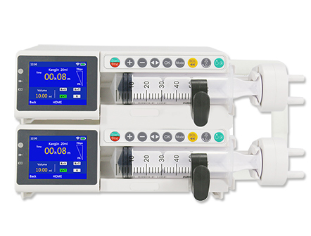 Hospital Electric Touch Screen Dual Channel Syringe Pump with WIFI
