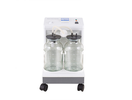 Oil-free Medical Retractable handle Electric Vacuum Suction Unit with Negative Pressure Pump