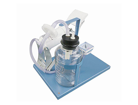 Portable Emergency Foot pedal Suction Machine