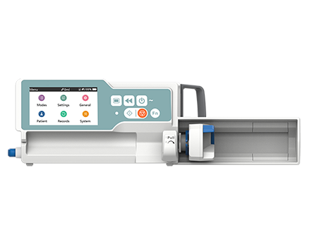 4.3 Inch LCD Color Touch Screen Automatic Syringe Pump with Drug Library
