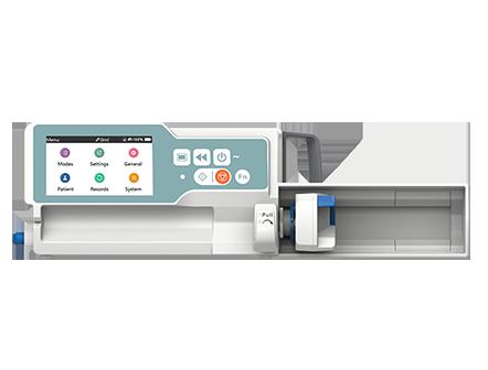 Medical Device Stackable Smart Syringe Pump