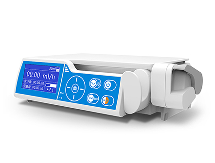High Precision Stackable Electronic Syringe Pump for Clinical Application