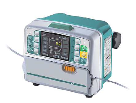 Medical Electronic Volumetric Infusion Pump with Drug Library