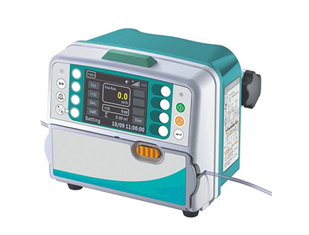 Automatic Intravenous Infusion Pump with Multiple Infusion Modes