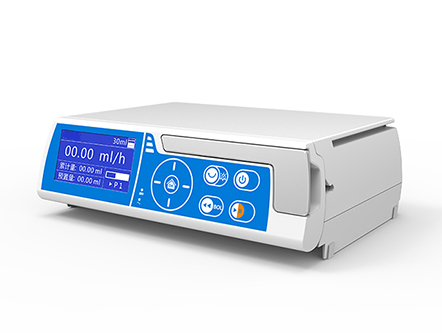 Medical Device Touch Screen Stackable Volumetric Infusion Pump