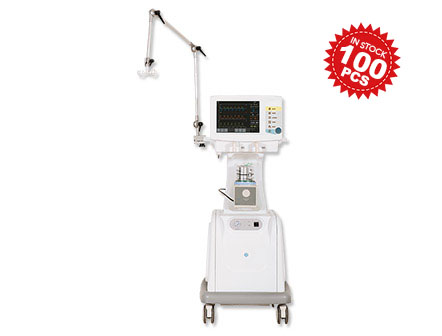 Invasive and Non-invasive Respiratory Ventilator Machine for adult/pediatric /Infant in Stock