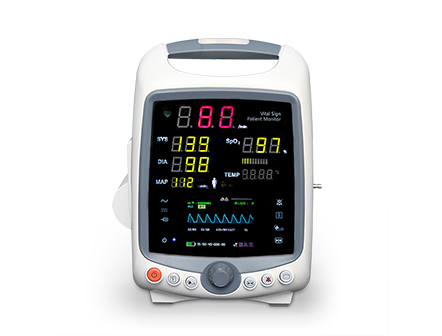 Medical Device Clinical Emergency Use Portable Vital Sign Patient Monitor with Flexible Configuration